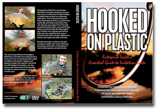 Enterprise Tackle Hooked-on-Plastic-DVD -get a copy today