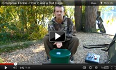 Watch Frank Warwick show how to use a Bait Cage