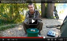 Watch Frank Warwick show how to use a Enterprise Corn Hairstops