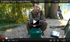 Watch Frank Warwick show how to use a Enterprise Imitation Pellets
