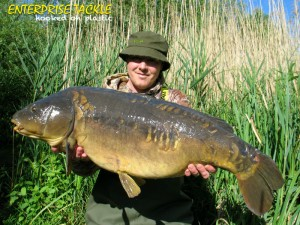 Stewart Harris's lovely 29lb 1oz mirror