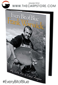 Frank's new book 'Every Bit of Blue' is now available from the www.carpstore.co