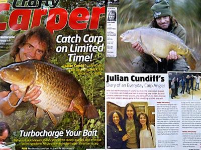Julian Cundiff crafty carper article