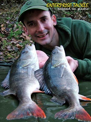 alan stagg with cracking perch brace