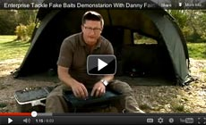 Watch Danny Fairbrass show how to use a Enterprise Fake baits