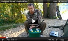 Watch Frank Warwick show how to use a Enterprise Imitation Corn baits