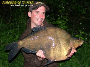 Alan Stagg 16lb 12 oz Bream